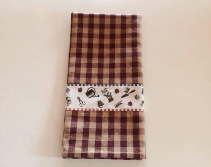 Kitchen Towel Tea Towel Dish Towel, Housewarming Gift Kitchen Towels, Towels Country Kitchen, Country Garden Towel,