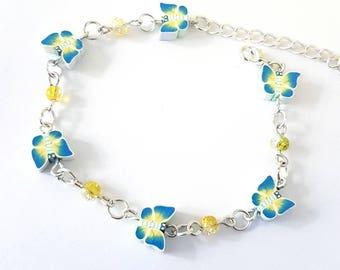 Polymer butterfly bracelets