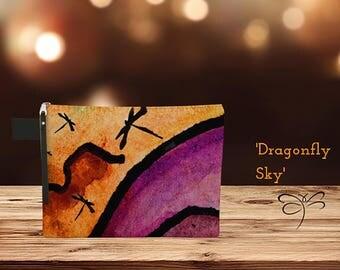 Dragonfly Sky' Zipper Carry-All