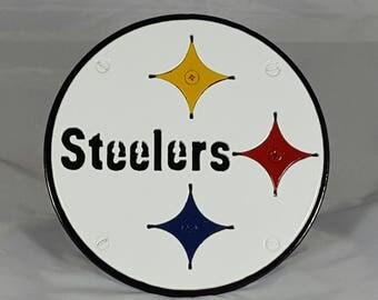 Pittsburgh Steelers Custom Hitch Cover