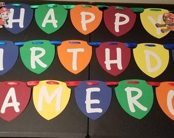 Paw Patrol - Birthday Party Banner
