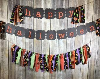Halloween Garland, Halloween Decor, Halloween Decoration, Halloween Banner,Halloween Banner set, Halloween Party Decoration