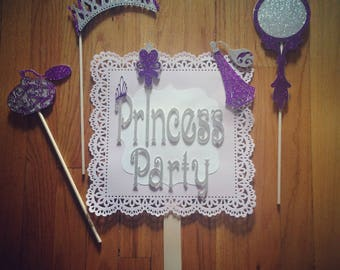 Princess Party Photo Booth Prop Package