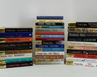 Lot of 34 Danielle Steel Hardcover Books no duplicates