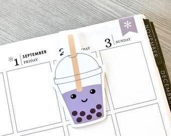 Bubble Tea Magnetic Bookmark (Large)