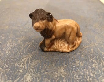 Vintage Wade Whimsies 1980s Lion