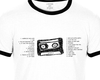 Mixtape T-Shirt PRINCE by Lissome Art Studio