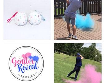 Question Mark Golf Ball Gender Reveal Golf Ball Gender Reveal Ideas Gender Reveal Golf Balls Gender Reveal Ideas
