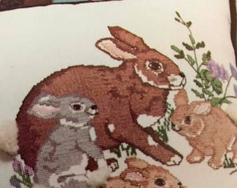 PRE-SUMMERSALE Vintage Something Special Candamar Designs Forest Babies Collection designs for counted cross stitch or needlepoint
