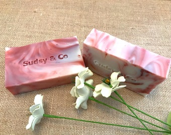 Peppermint Silk Soap