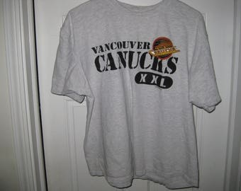 vintage 1994 Vancouver Canucks hockey t-shirt