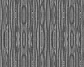 Designer Minky - Woodgrain Minky - Woodlands Fabric- Fabric by the Yard - Designer Minky - Gray Woodgrain Minky -