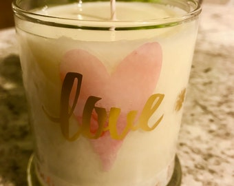 A Couples Love: His and Her Candles