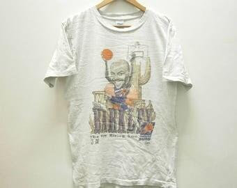 Rare! Vintage 90s Charles Barkley PHOENIX SUNS Salem Sportwear t shirt size M