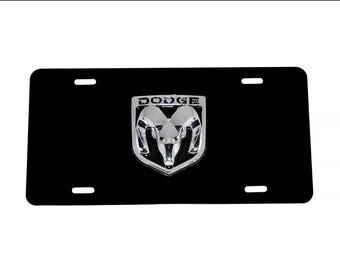 Custom Aluminum License Plate for DODGE