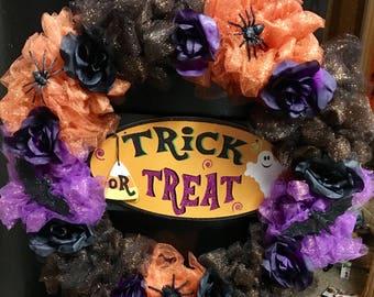 Trick or Treat Wreath