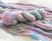 Happy Accident Hand Dyed Yarn for Knitting and Crochet