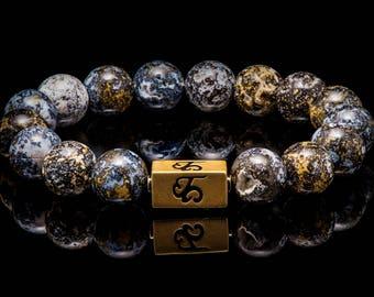 Ocean Jasper - Beaded Bracelet