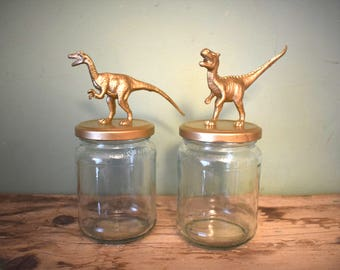 Dinosaur Storage Jars