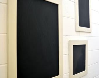 Handmade Blackboards Chalkboards - Wedding Signs - Menu Boards - Home Decor - Set of Three