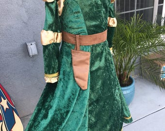 Disney's Brave Merida costume girl 4T- Free Shipping