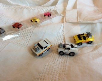Vintage miniature toy cars