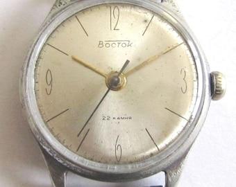 Rare Soviet/USSR men's wrist watch - VOSTOK/VOLNA