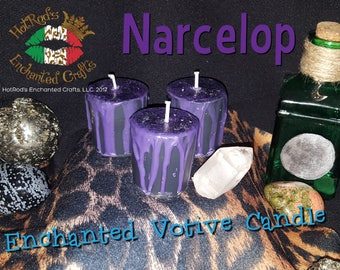 Narcolep ~ Enchanted Votive Candle