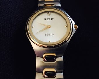 Beautiful Relic Round Face Watch