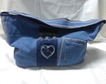 JEANS RECYCLED BAG
