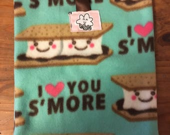 VALENTINES SALE: Small Pet Pouch - Smores