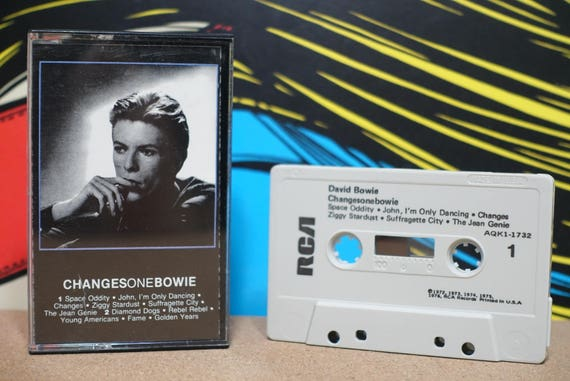 ChangesOneBowie by David Bowie Vintage Cassette Tape