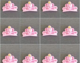 12 x Crown Toppers, Princess Decorations,  Princess party