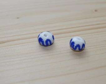 Viking glass bead from Birka