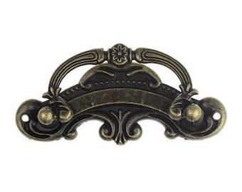 Door handle for chest, box bronze antique 893.