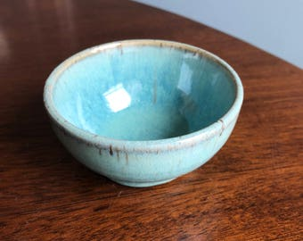 Small Teal Sauce bowl