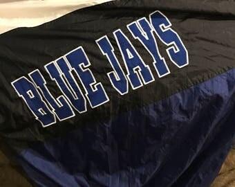 Vintage blue jays chalk line jacket
