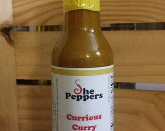 Currious Curry Hot Sauce