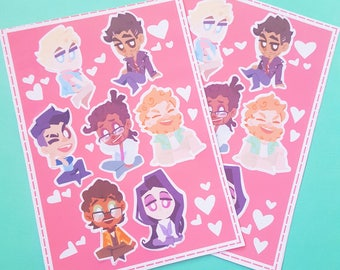 Dream Daddy - Stickers