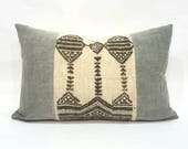 "15""× 24"" African fulani blanket pillow cover"