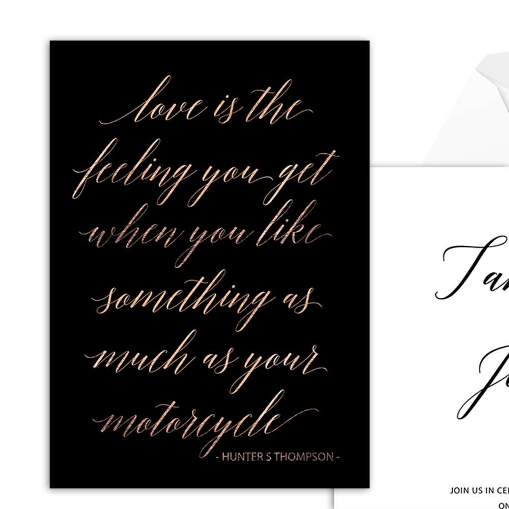 Love Quotes Wedding Invitation Love Quote Invitation Printable Template Wedding Invitation