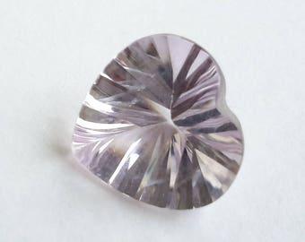 Amethyst, 2.95 ct amethyst, genuine amethyst gemstone,amethyst gem, heart shape amethyst, heart gemstone, 2.95 ct, 11 mm x 11 mm x 7 mm