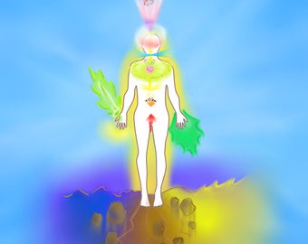 Personal Energy Reading (Digital Download) - Aura Reading - Chakra Reading - PNG files - Downloadable Gift - Downloadable Reading