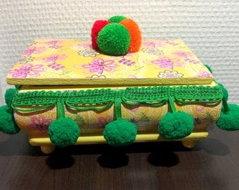 Mexican jewellery box.