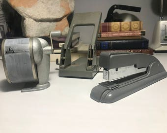 Vintage Industrial Office Supplies (3)