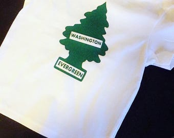 PNW Evergreen tree shirt