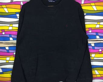 Rare!! POLO By Ralph Lauren Sweatshirt Small Pony Large Size