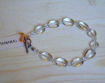 Lubia by Manaka.lab rock crystal bracelet