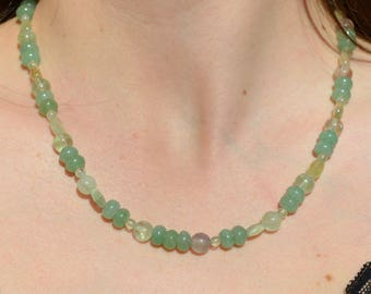 Aqua verde by Manaka.lab semi-precious stone necklace