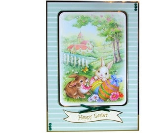 Happy Easter, Easter card, Easter bunny, Easter bunnies, Easter Sunday, Easter eggs